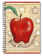 Red Delicious Two Spiral Notebook