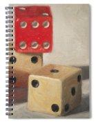 Red Die Spiral Notebook