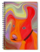 Red Dog Spiral Notebook