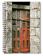 Red Door Spiral Notebook