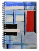 Red Door II Spiral Notebook