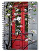 Red Door Spiral Notebook