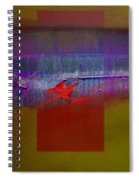 Red Dragon Autumn Spiral Notebook