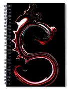 Red Dragon Serpent Named S Spiral Notebook