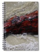 Red Drifter Spiral Notebook
