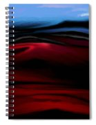 Red Dunes Spiral Notebook