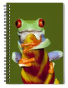 Red Eyed Delight Spiral Notebook