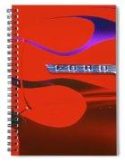 Red F-100 Spiral Notebook