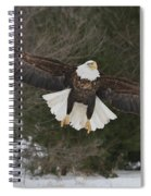 Red Feather Lift Off Spiral Notebook