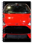 Red Fiesta Mk7.5 Spiral Notebook