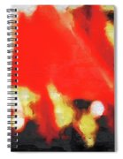 Red Flags II Spiral Notebook
