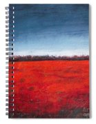 Red Flowering - Poppies Spiral Notebook