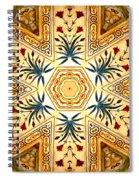 Red Fort Mosaic Spiral Notebook