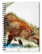 Red Fox Painted Series Spiral Notebook