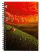Red Fox..peaceful Spiral Notebook