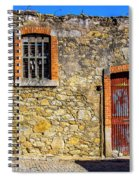 Red Gate, Stone Wall Spiral Notebook
