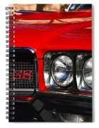Red Gs Spiral Notebook