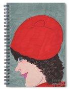 Red Hat Spiral Notebook