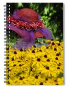 Red Hat Parade Spiral Notebook