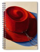 Red Hat Spiral Notebook