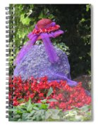 Red Hat Veil Spiral Notebook
