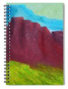 Red Hills Revisited. Spiral Notebook