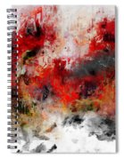 Red Hope  Spiral Notebook