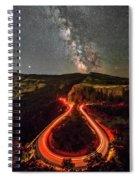 Red Hot Cauldron Spiral Notebook