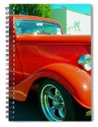 Red Hot Rod Spiral Notebook