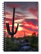 Red Hot Sonoran  Spiral Notebook
