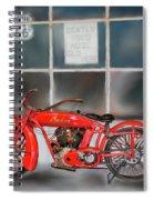 Red Hot Tail Gunner Spiral Notebook