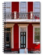 Red House-nola-marigny-2 Spiral Notebook