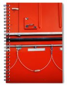 Red Hull Spiral Notebook
