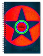 Red Intense Spiral Notebook