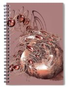 Red Jewels Spiral Notebook