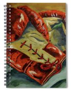 Red Laces  Spiral Notebook