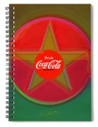 Red Landscape Spiral Notebook