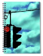 Red Light Spiral Notebook