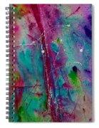 Red Line Spiral Notebook