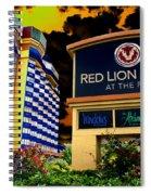 Red Lion Hotel In Spokane Spiral Notebook