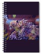 Red Lionfish Art Spiral Notebook