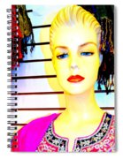 Red Lips And Sequins Spiral Notebook