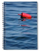 Red Lobster Buoy Spiral Notebook
