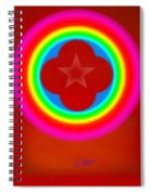 Red Logo Spiral Notebook