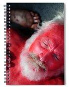 Red Man Spiral Notebook