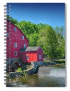Red Mill Of Clinton New Jersey Spiral Notebook