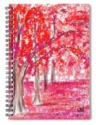 Red Mood Spiral Notebook