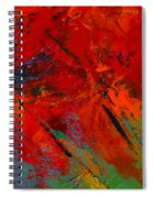 Red Mood Spiral Notebook