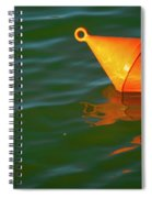 Red Mooring Buoy Spiral Notebook