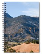 Red Mountain And Pikes Peak Spiral Notebook